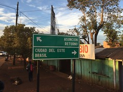 arriving at Ciudad dell Este