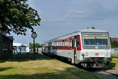 P2310401 (Lumixfan68) Tags: 628 eisenbahn db shuttle plus sylt bahn schnberg hein vt deutsche zge triebwagen baureihe dieseltriebwagen sonderzge