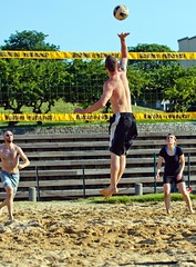 2016-06-17 Coed Doubles (15) (cmfgu) Tags: baltimore beach volleyball bbv md maryland innerharbor rashfield sand sports court net outdoor league athlete game coed doubles twos 2s craigfildesfineartamericacom