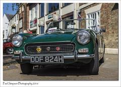 Austin Healey Sprite (Paul Simpson Photography) Tags: green car classiccar transport british motor oldcar motorcar brigg austinhealeysprite northlincolnshire photosof imageof britishclassic photoof imagesof sonya77 paulsimpsonphotography may2016