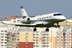 Mr. Oil landing at Vnukovo (Artyom Anikeev) Tags: avia aviation airplane artyomanikeev anikeev canon vnukovo business building jet uuww planespotting plane spotting g200 gulfstream