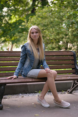 DSC_0167 (I have many names) Tags: park street light summer portrait people woman cute girl beautiful face nice warm moscow portraitphotography