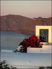Door.     Oia (Claire Pismont) Tags: door travel color colour volcano colorful greece caldera couleur grece volcan travelphotography documentory pismont clairepismont