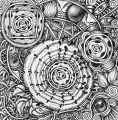 Ancient Motifs (molossus, who says Life Imitates Doodles) Tags: review giveaway zentangle zentangleinspiredart ancientpatternsformoderntangling