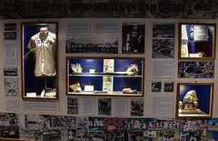 History of Baseball in San Diego display at Petco Park San Diego CA (mbell1975) Tags: california park ca usa history field museum america major us san unitedstates sandiego baseball display stadium award diego calif arena cal american padre league petco mlb majorleague pardres thorphy