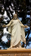 Christus statue, Forest Lawn Hollywood Hills (mercycube) Tags: replica thorvaldsen christus forestlawnhollywoodhills