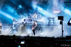 Rammstein @ Hellfest 2016-17 (yann.bredent) Tags: festival metal rock music musique live show stage lights fireworks 2016 hellfest hellfest2016 artiste concert rammstein band artist