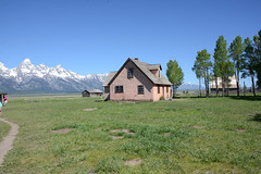 Around the Teton Park Loop, Mormon Row, John Moulton Homestead (thatmanwithacamera) Tags: america wyoming grandtetonnp mormonrow