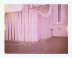 Hallgrmskirkja 1 (sycamoretrees) Tags: film church architecture analog polaroid iceland 690 expired reykjavk sland hallgrmskirkja landcamera packfilm model100 instantfilm automatic100 type100 expired2008 marianrainerharbach 690200808