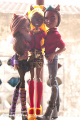 Wolf Family (Osmundo Gois) Tags: wolf familly clawd clawdeen clawdia monster high