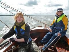 Iolanthe Sails Again (John of Wirral) Tags: hoylake opera boat sailing iolanthe liverpoolbay irishsea meols family rick alix wirral coast