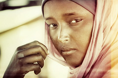 african woman (yrotori2) Tags: voyage africa travel portrait woman face donna femme afrika ritratto viaggio velo somalia visage afrique volto