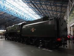 Evening Star (Megashorts) Tags: york uk england museum yorkshire railway olympus pro f28 nationalrailwaymuseum omd em10 mzd 1240mm