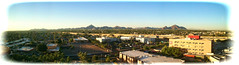 North Phoenix Skyline Panorama (lloydboy52) Tags: northphoenixskylinepanorama phoenix arizona phoenixchildrenshospital pch waitingroom oncology skyline panorama hospital mountains