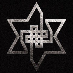 symbol of infinity (synartisis) Tags: above david star symbol infinity swastika cube hexagon below magen