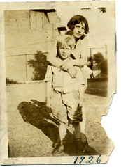 Mildred and James Wareham 1926 (ectopaper) Tags: new york james queens wareham mildred 1926