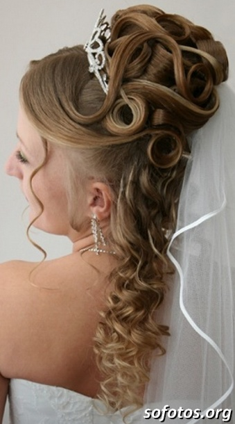 Penteados para noiva de cabelo longo