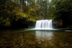 Upper Butte Falls (Eric.Vogt) Tags: longexposure water oregon creek spring butte falls upperbuttecreekfalls