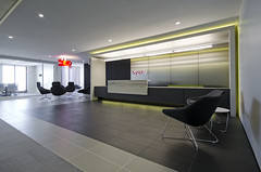 Saputo (Wade Griffith) Tags: modern design office interior lobby business signage interiordesign conferenceroom receptionarea saputo interprise
