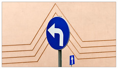 Signs (leo.roos) Tags: facade zeiss poland polska polen oneway cz trafficsign verkeersbord gevel a900 dyxum darosa jawor eenrichtingsverkeer may2013 leoroos sonyczvariosonnar247028 wroclawdyxummeet