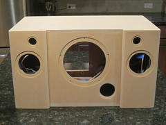 Unfinished Boombox (burritobrian) Tags: diy speaker boombox overnightsensations speakerbuild sd215a88