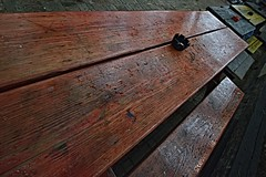 Rains. Cigarette. Bench (steven..ng) Tags: raindrops ashtray cigarettes rains woodenbench spiderhousecafe nikond800 nikoncapturenx2 nikkor1635mmf4gvr drinkandclick drinkandckick
