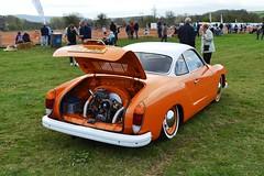 1973 Volkswagen Karmann Ghia – SRR 292L (Paul D Cheetham) Tags: volkswagen spectacular 16 1973 bakewell ghia karmann showground ohv 2013 flatfour 1584cc srr292l