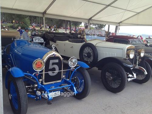 Parade cars at the 2013 Spanish Grand Prix