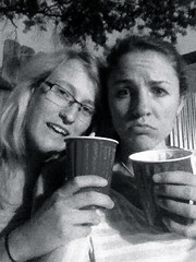 bonding con keg? (rachel.wylie) Tags: friends red beer spring drinking cups solo davis keg