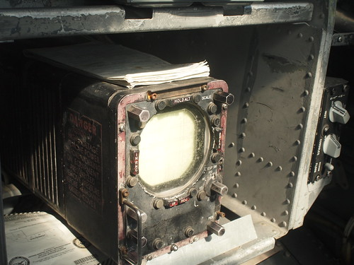 Douglas EKA-3B Skywarrior cockpit
