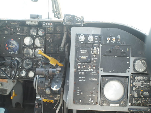 Douglas EKA-3B Skywarrior cockpit P5120766