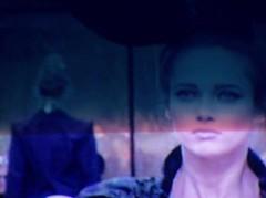 (decandace) Tags: blue girl fashion tv model models runaway tvscreen ftv