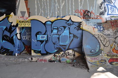 Guts (Boxcar - Willy) Tags: vancouver train graffiti boxcar graff piece burner hopper freight 604 vancity wheatie