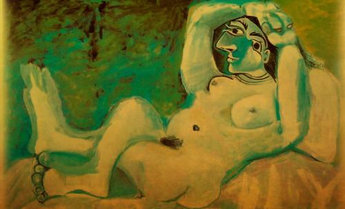 "Majas, homenajes de Francisco de Goya y Lucientes (1802), Eugéne Delacroix (1826), Amadeo Modigliani (1916), Pablo Picasso (1906), (1931), (1959), (1964). • <a style=""font-size:0.8em;"" href=""http://www.flickr.com/photos/30735181@N00/8746853817/"" target=""_blank"">View on Flickr</a>"
