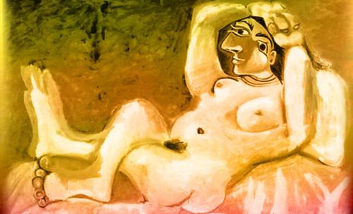 "Majas, homenajes de Francisco de Goya y Lucientes (1802), Eugéne Delacroix (1826), Amadeo Modigliani (1916), Pablo Picasso (1906), (1931), (1959), (1964). • <a style=""font-size:0.8em;"" href=""http://www.flickr.com/photos/30735181@N00/8746854827/"" target=""_blank"">View on Flickr</a>"