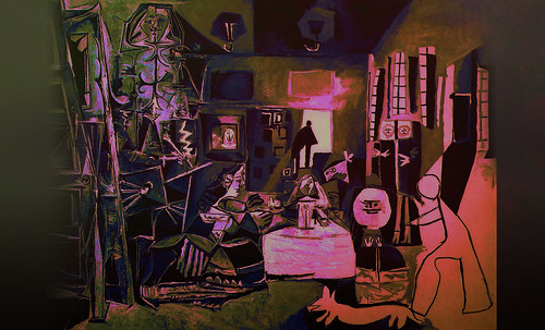 """Meninas, iconósfera de Diego Velazquez (1656), estudio de Francisco de Goya y Lucientes (1778), paráfrasis y versiones Pablo Picasso (1957). • <a style=""""font-size:0.8em;"""" href=""""http://www.flickr.com/photos/30735181@N00/8746858663/"""" target=""""_blank"""">View on Flickr</a>"""