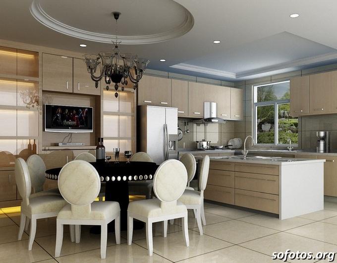 Salas de jantar decoradas (168)