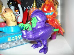 Pawn (kopponigen) Tags: verde green toy purple skin made healy resin resina healey pawn juguete morado