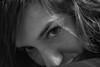 Eye (Bluesilver85) Tags: portrait white black eye face look self see eyes faces occhi autoritratto sight glance bianco ritratto nero facce faccia