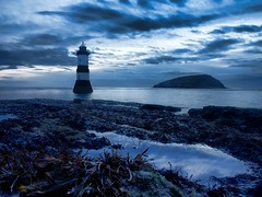 Dawn at Penmon (petrova fossil :)) Tags: lighthouse wales coast seaside puffinisland penmonpoint lighthousetrek olympusomd