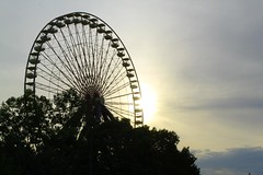 Big Wheel (Midgetman82) Tags: abandoned kentucky amusementpark louisville louisvillekentucky sixflagskentuckykingdom sbno kentuckykingdom standingbutnotoperating
