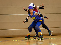 """Stockholm BSTRDs vs. Dock City Rollers-16 • <a style=""""font-size:0.8em;"""" href=""""http://www.flickr.com/photos/60822537@N07/8995164415/"""" target=""""_blank"""">View on Flickr</a>"""