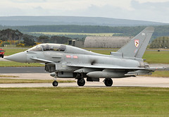 Typhoon T3 (np1991) Tags: uk scotland force air royal reserve eurofighter xxx t3 typhoon raf moray squadron lossiemouth ocu sqn lossie 29r coningsby