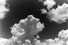 (Jacqueline Lege) Tags: summer sky blackandwhite cloud contrast lens filter dreamy cloudformation hoya homedeveloped hoya25a ilfosol3 dayitme