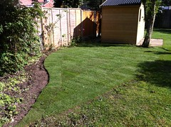 """Turfing - finished result just after being layed • <a style=""""font-size:0.8em;"""" href=""""http://www.flickr.com/photos/72072497@N07/9502988352/"""" target=""""_blank"""">View on Flickr</a>"""
