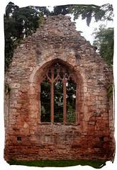 Chapel Remnants (Canis Major) Tags: window wall chapel herefordshire ruined replaced lowerbrockhampton brockhamptonchapel