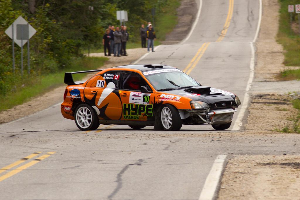Massimo & Nick Narini - Team Manick - Rallye Défi 2013
