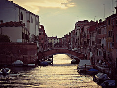 sunset in Venice (hazy shade of winter) Tags: venezia ghetto sunsetinvenice
