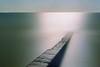 Long groyne (Alex Bamford) Tags: longexposure sea film 35mm sussex nikonfe peacehaven fujicolorsuperia200 alexbamford 50minutes wwwalexbamfordcom alexbamfordcom