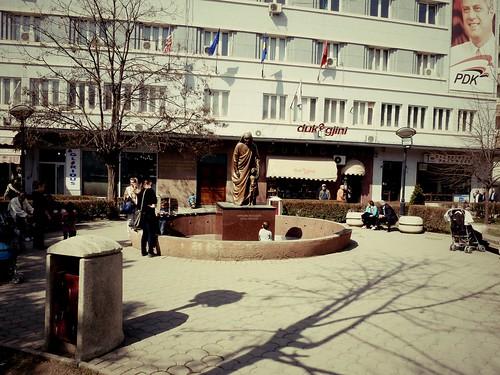 Statue de Mère Theresa, Pristina, Kosovo